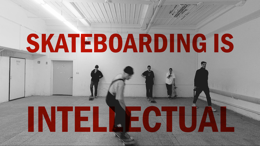 Limited 6a skateboarding is intelectual